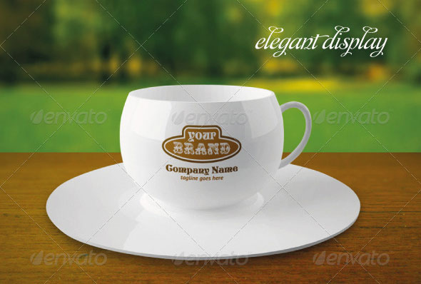 Elegant Coffee Cup Mock-up