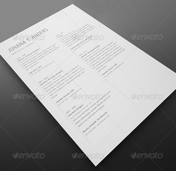Resume Set - Vol.2