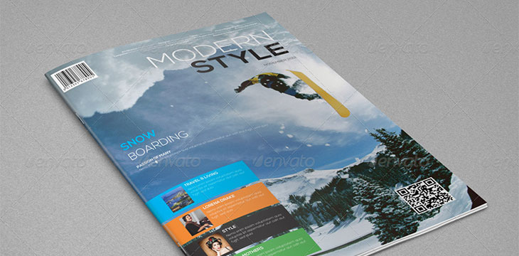 25 awesome sport magazine cover and layout templates