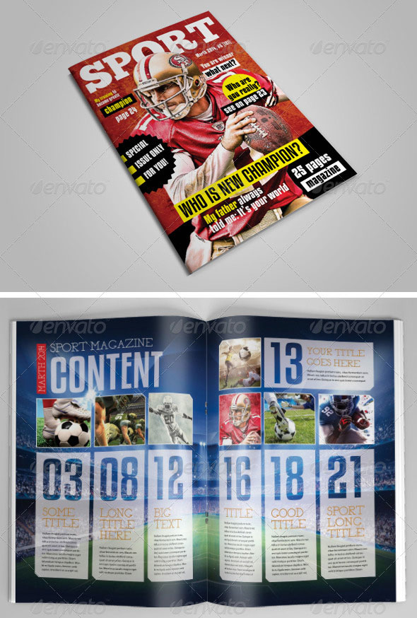 25 Pages Sport Magazine Vol11