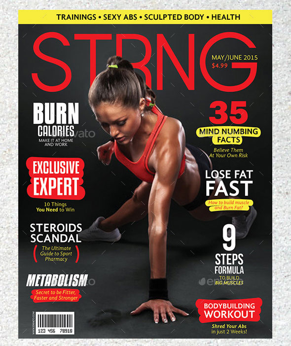 25 Awesome Sport Magazine Cover And Layout Templates Web