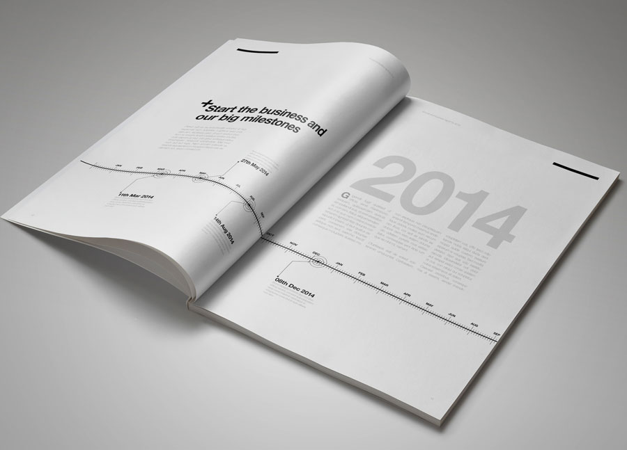 40 Best Corporate Indesign Annual Report Templates Bashooka