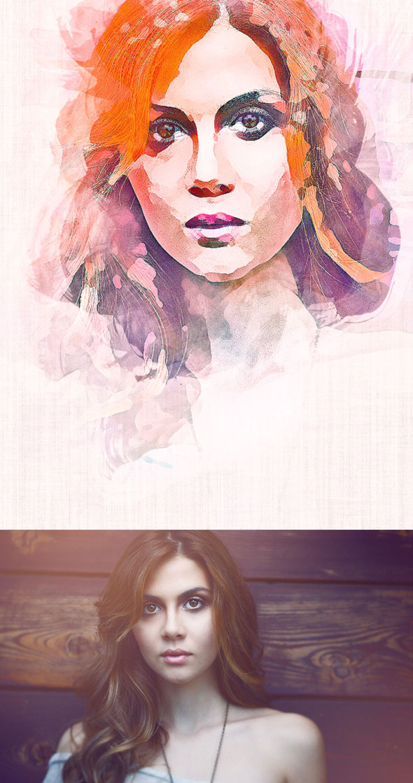 Watercolor Art Action