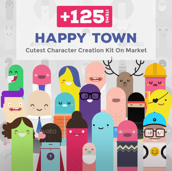 Happy Town - Character Creation Kit