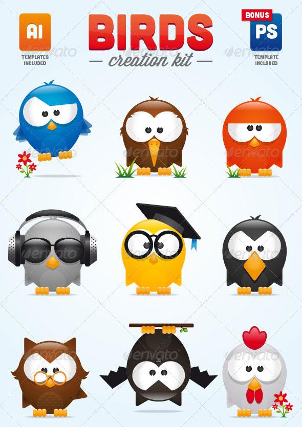 Birds Creation Kit