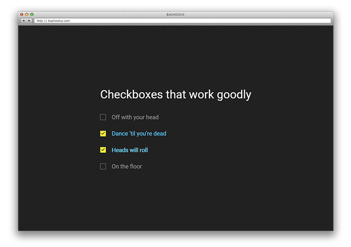 [Pure CSS] Delightful Checkbox Animation