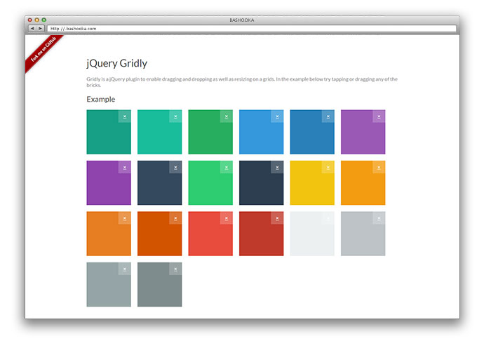 jQuery Gridly