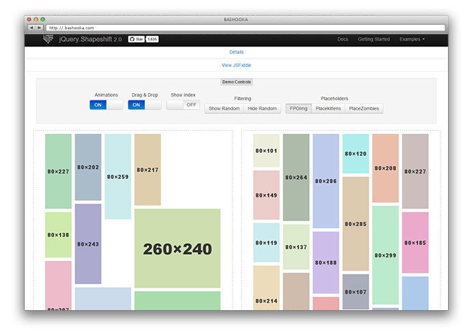9 jQuery Drag & Drop Grid Layout Plugins – Bashooka