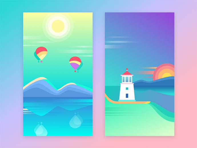 Free Colorful Wallpapers by Ludmila Shevchenko