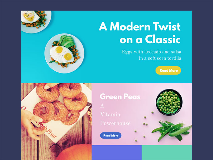 Food Magazine Template by Stelian Firez