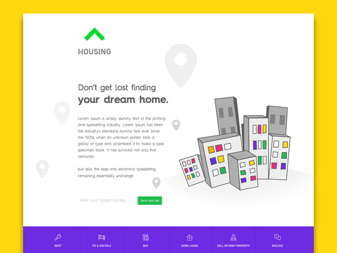 Landing Page by Ranjith Alingal