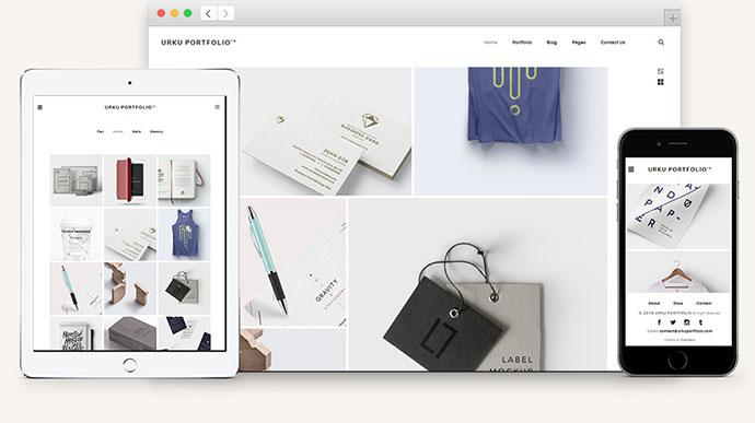 Urku HTML5 Portfolio Website