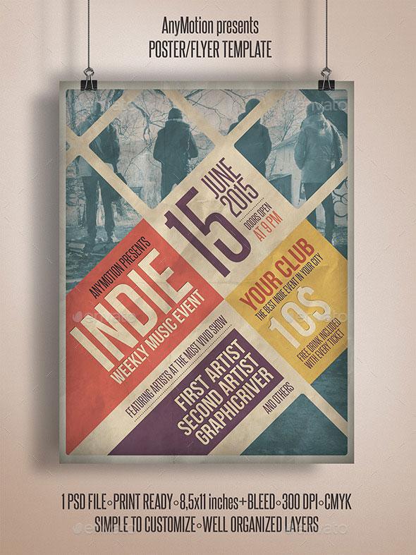 Grunge Indie Flyer