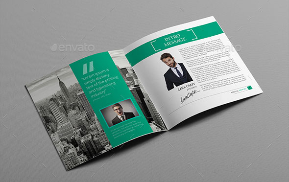 Striking Square Brochure Template Designs Web Graphic - Brochure template for indesign
