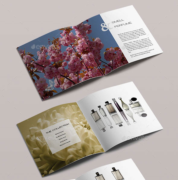 21 Striking Square Brochure Template Designs | Web & Graphic Design ...