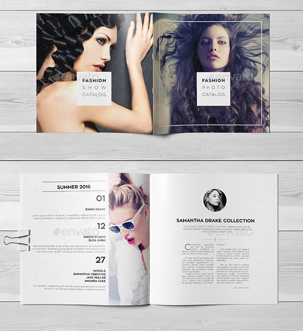 Striking Square Brochure Template Designs  Web  Graphic Design