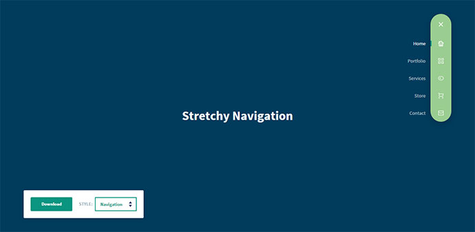 Stretchy Navigation