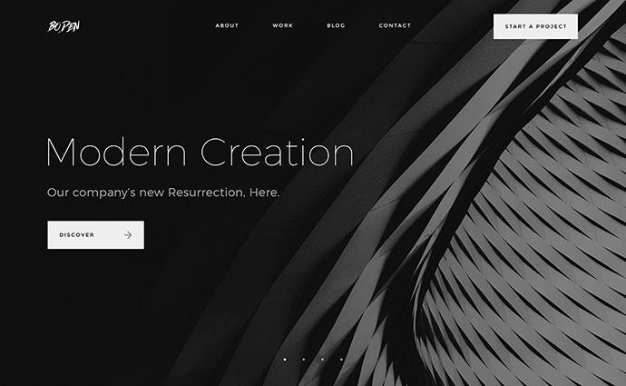 Boden - Creative Portfolio Template