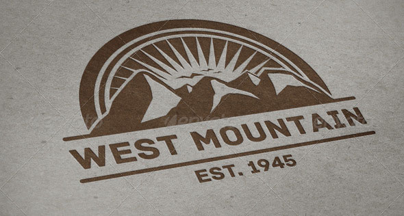 West Mountain Vintage Logo