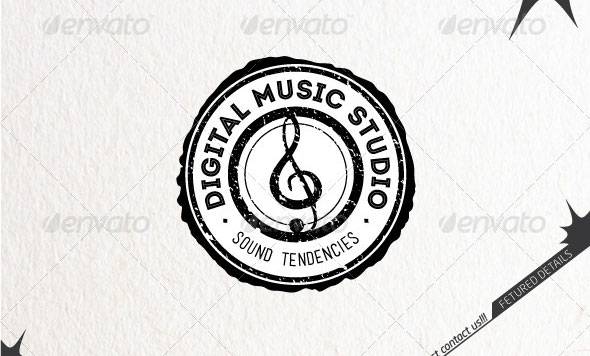 Digital Music Studio Logo
