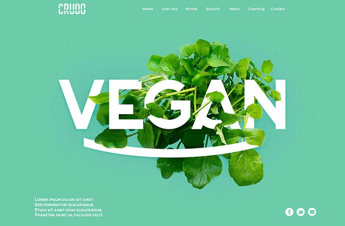 Crudo | Raw Food Restaurant by Lucas Berghoef