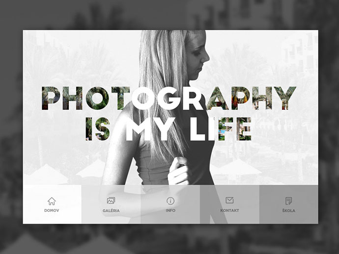 Web Design Photographer by Martin Strba