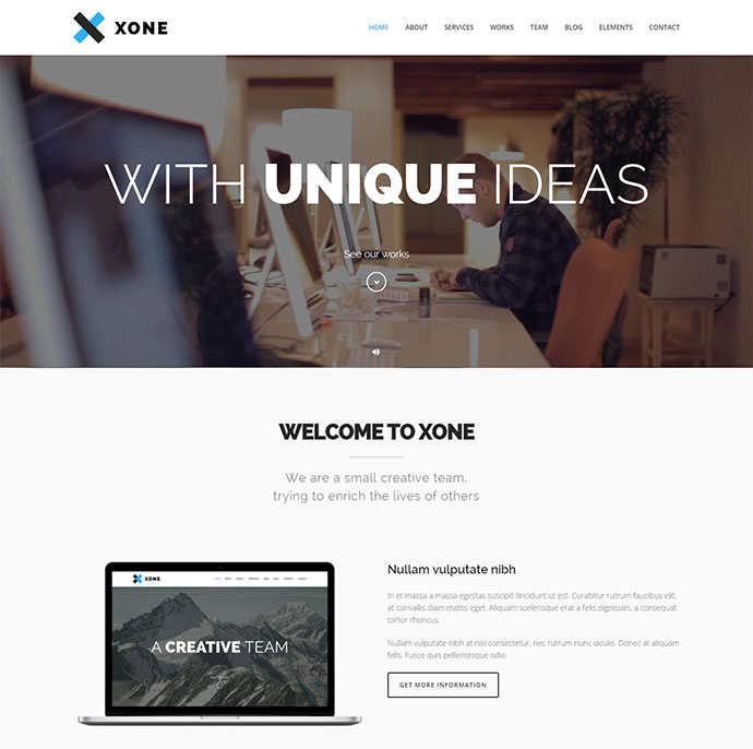 23 Portfolio Wordpress Themes With Engaging Video Backgrounds | Web ...