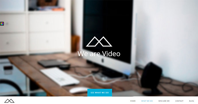 23 Portfolio Wordpress Themes With Engaging Video Backgrounds Web