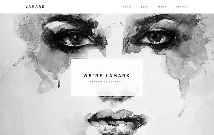 Lamark - Minimal Agency Portfolio Theme