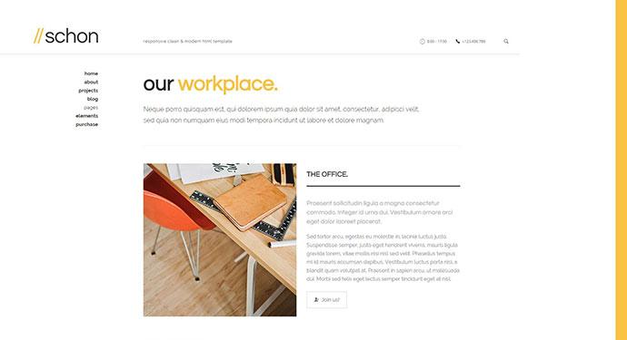 Schon - Modern WordPress Theme for Business