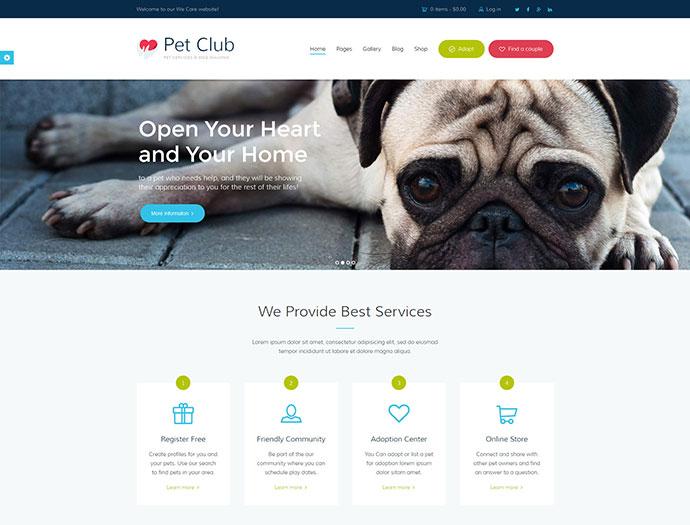 Pet Club - Services, Adoption, Dating &Community