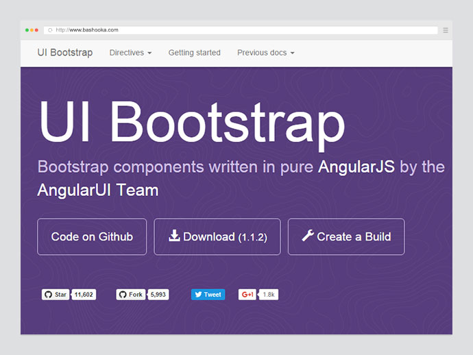 Directive for bootstrap