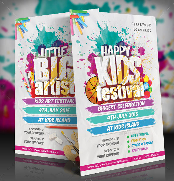 Kids Festival Flyer