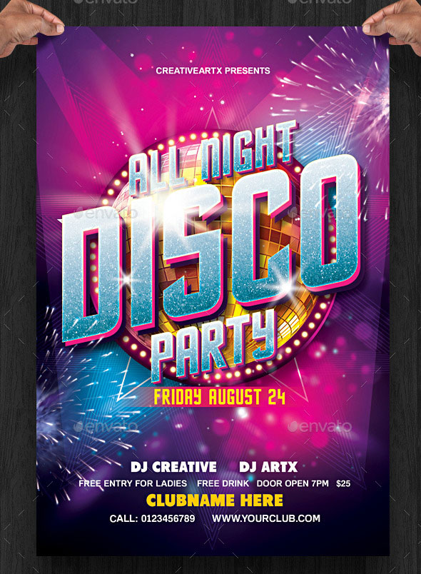 All Night Disco Party