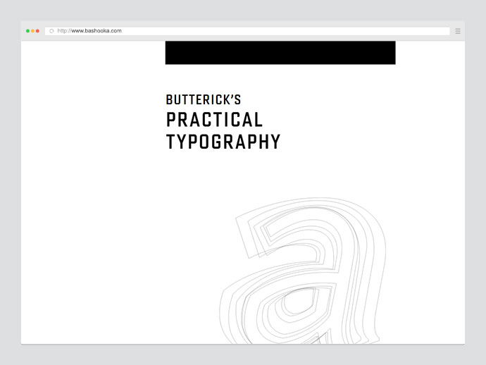 Free Book : Practical Typography