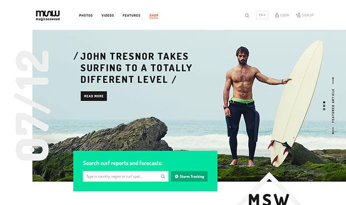MSW Redesign Concept by Mykolas Puodžiunas
