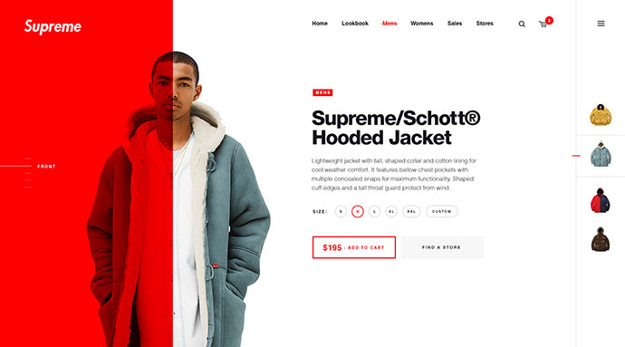 Supreme NY clothing  by Matt Thompson ??