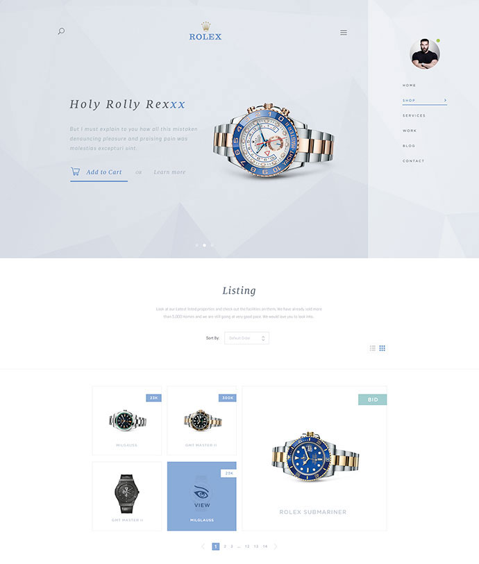 Light Version E-commerce by Max