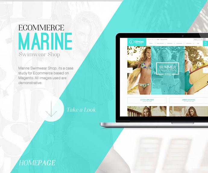 Marine Swimwear Shop - Ecommerce