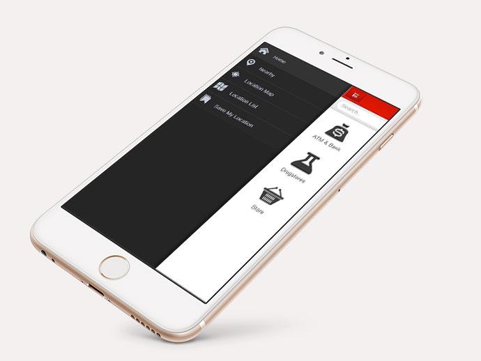 Maps Finder App