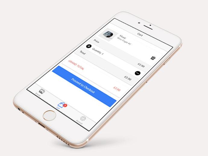 Ionic, AngularJS & Cordova App Template & Example