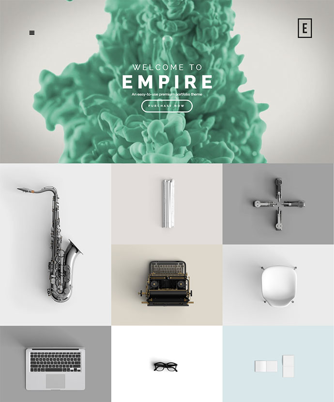 Empire / Fullscreen Portfolio Theme