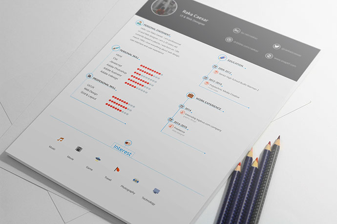 Resume / cv template - free download