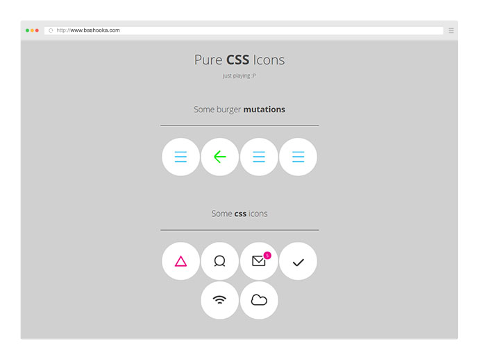 25 Amazing Web UI Components Built Using Pure CSS – Bashooka