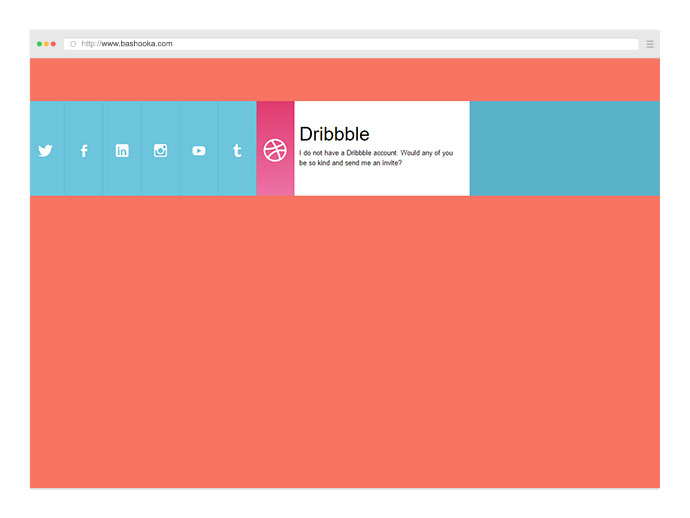 Pure CSS Horizontal Accordion
