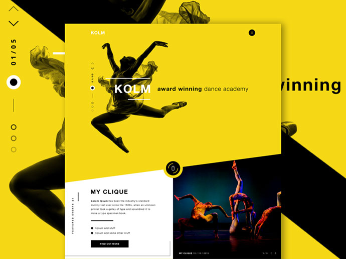 KOLM - Dance Academy by Robert Berki