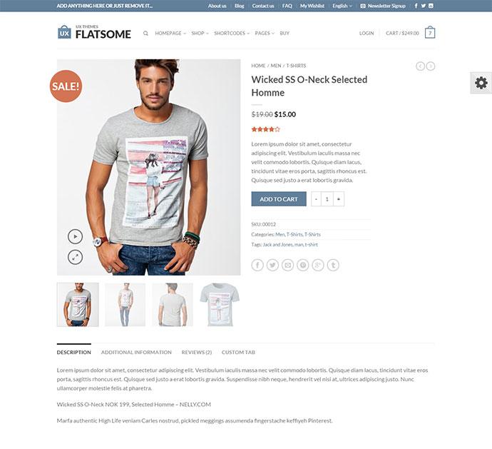 Flatsome | Responsive WooCommerce Theme