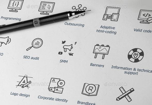 Web-Development Icons Set