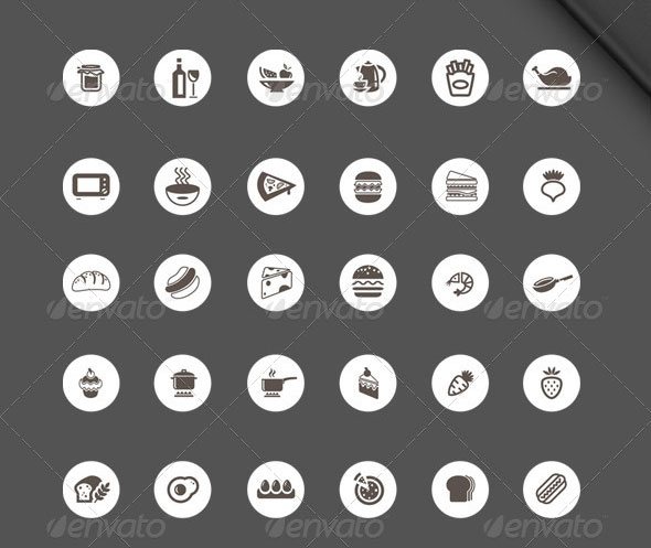 Food/Restaurant - 132 Icons