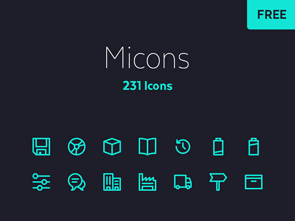 231 Icon Set by Cosmin Negoita